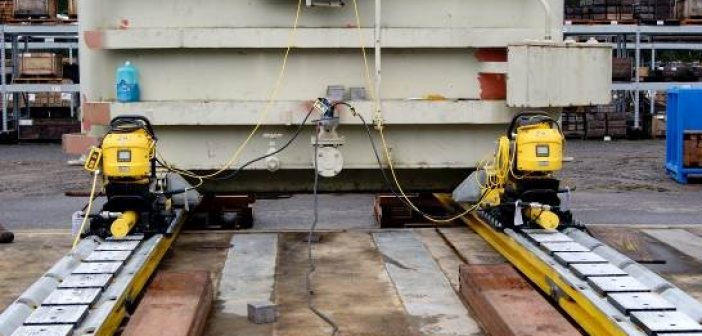 New skidding system moves heavy loads in tight spaces
