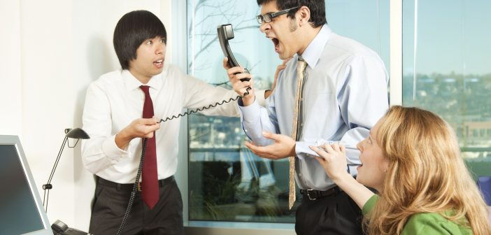 Aggression at work can lead to 'vicious circle' of misconduct