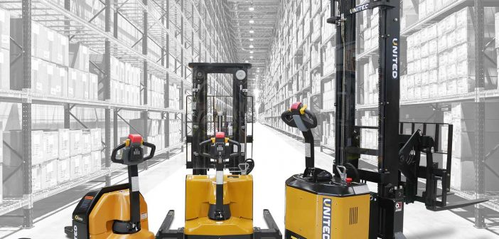 New electric forklifts provide safe warehouse solutions
