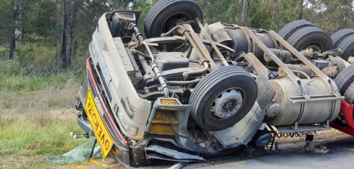 Collision after faulty truck's brakes fail