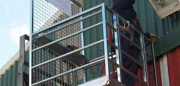 Construction company sentenced after worker fell from man cage